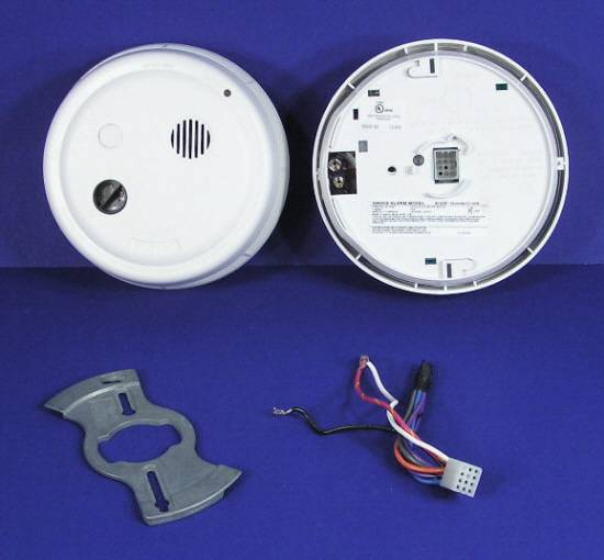 gentex 9123f photoelectric smoke detector alarm 9000 series wires manual ebay